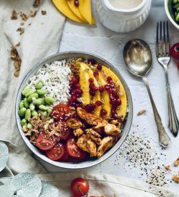 Quinoa-Chicken-Bowl ala Dean & David® Rezept