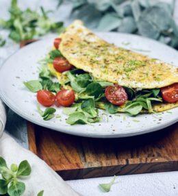 Omelette-Wrap/Wrap-Calzone Rezept